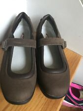 MBT Shoes Size 8.5M/39 Brown Leather Great Condition
