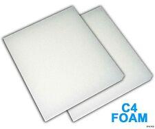 4 Foam Filter Pads For Fluval C4 Filtration System