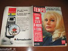 RIVISTA TEMPO 1963/19=ANITA EKBERG=MINA=CORRADO PANI=FRIEDRICK VON NUTTER=