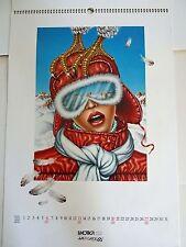 LUXOTTICA EYEWEAR - 1985 COMPLETE CALANDER - PAOLA CASAGRANDE - 13 IMAGES