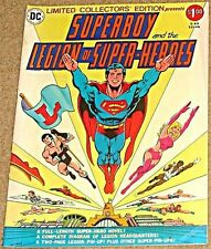 C-49 LIMITED COLLECTORS EDITION TREASURY SUPERBOY & THE LEGION OF SUPER HEROES