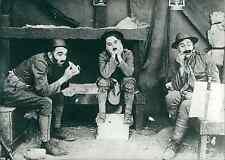 "Charlie Chaplin, ""Charlot Soldat"" Vintage silver print, tirage postérieur,Char"