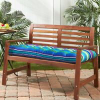 Romhouse Outdoor High Rebound Foam Bench Swing Thick Cushion Water-Resistan