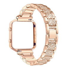 Stainless Steel Replace Watch Strap Band + Metal Frame For Fitbit Blaze Tracker