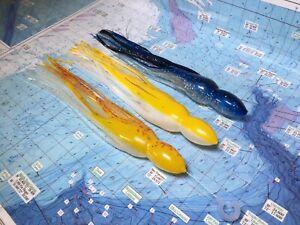 Marlin Tuna Big Game Hawaiian Trolling Lure Skirts