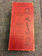Antique Thermal Infra Red Facial Massage Sibert and Co. Orig. Box