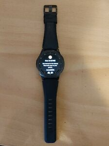 Samsung Gear S3 Frontier 46mm Stainless Steel Case Black Smart Watch
