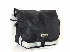 Dunlop DSLR Compact Camera Bag Holdall Black Silver New with Rain Cover A453