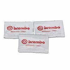 3x Genuine Brembo Brake Caliper Lubricating Grease Sachets, High Temp Silicone