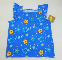 Girls CRAZY 8 by Gymboree sea turtle beach ruffle tank top 18 24 2T 3T 4T NWT