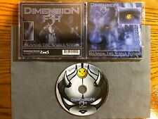 DIMENSION F3H - REAPING THE WORLD WIND 2003 1PR NEW! LIMBONIC ART THE KOVENANT