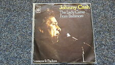 Johnny Cash - The lady came from Baltimore 7'' Single GERMANY