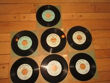 Lot of 7 THE MELODIERS 45's VERY RARE EX to NM PSYCH