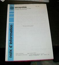 AEROSPATIALE PRESS HANDOUT HELICOPTERS MAY 1984 ECUREUIL DAUPHIN SUPER PUMA