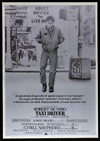 Poster Taxi Driver Robert De Niro Martin Scorsese Jodie Foster Brooks P15