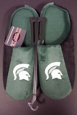 Michigan State University Spartans Slippers - Size 11-12 - NEW