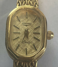 Longines Quartz Ladies Gold Tone Watch