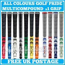 Golf Pride New Decade Multi Compound MultiCompound + Platinum - All Colours x 1