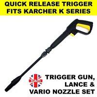 Karcher K4 Trigger Gun Lance Vario Quick Release for Pressure Jet Washer