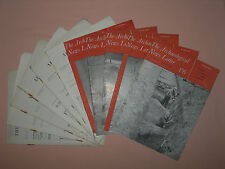 11 x The Archaeological News Letter Vol 5 1954-1955 Newsletter Magazine Journal