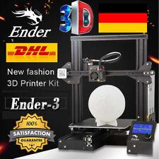 PRO Creality 3D Ender3 V-Schlitz MK-8 DIY 3D Drucker 22x22x25cm Resume Printing