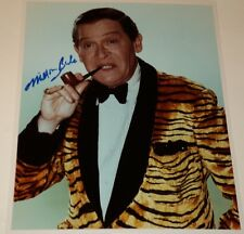 MILTON BERLE /  CLASSIC  8 X 10  COLOR  AUTOGRAPHED  PHOTO