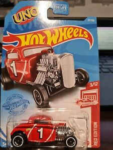 HOT WHEELS RED EDITION 32 FORD