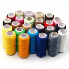 Accessotech 24 Colour Spools Finest Quality Sewing All Purpose Pure Cotton Thread Reel