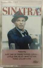 NEW SEALED OLD STOCK CAPITOL RECORDS - SINATRA - 1983 - CASSETTE NOS