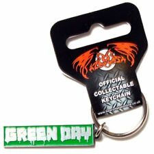 GREEN DAY Keychain Portachiavi Logo OFFICIAL MERCHANDISE