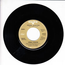FRANK SINATRA High Hopes VG(+) 45 RPM REISSUE