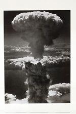 NAGASAKI UNDER ATOMIC BOMB ATTACK,  Art-Postcard  NEW