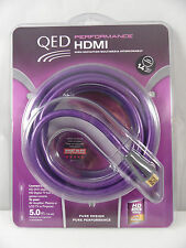 QED 5M HDMI CABLE WITH ARC, LED TV, 4KTV 2160p, PS4, XBOX 1, SMART LEAD