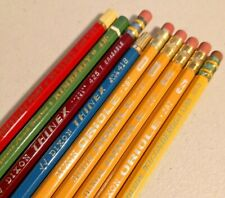 Vintage  Dixons & 2 others Pencils lot of 9  --  2006