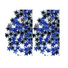 100 Rhinestones BLUE new lots Arts Crafts STARS
