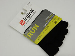 Injinji Performance Run Lightweight No Show Noir XL