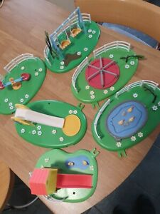 Peppa Pig Toy Bundle - Job Lot - Bundle - Peppa pig play park set.