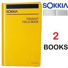 Sokkia 815200 Transit Field Book - Set of 2 (Two) Books