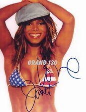 Celebrity Pictures  Janet Jackson Signed
