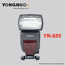 YONGNUO YN-685 2.4G Wireless HSS 1/8000s Master Speedlite for Canon 60D 40D 30D