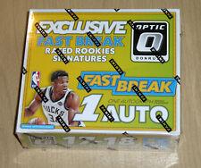 2017-18 Donruss Optic FAST BREAK factory sealed basketball box Tatum/Mitchell?