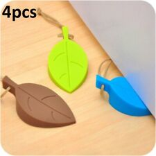 Door Stopper Leaf Home Accessory Gift Baby Safety Stop Soft Plastic Holder Wall