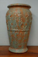 "Large Crooksville Burley-Winter Art Pottery Classical Floor Vase 16 3/4"""