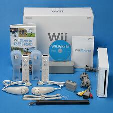✨ Nintendo Wii Konsole ✨Wii Sports t ✨2x Remote & 2x Nunchuck  ✨OVP