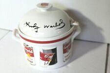 ANDY WARHOL POP ART Campbells 2.5 Quart Covered  Soup Tureen w/ Ladle
