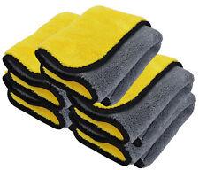 Microfaser Trockentuch 5 Stück Microfasertuch saugstark KFZ Autowäsche Putztuch
