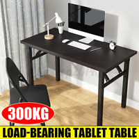 Adjustable Foldable Writing Table Computer PC Study Gaming Desk Home Office