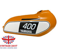 YAMAHA 250 DT / 400 DT Enduro,Orange Painted Steel Tank 1975 to 1977 |Fit For