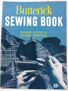 Short Cuts to Home Sewing 1959 Vintage Butterick Sewing Book Paperback