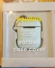 Heyday Earbud Case Cover Light Aqua - for Apple AirPod Gen 1 & 2